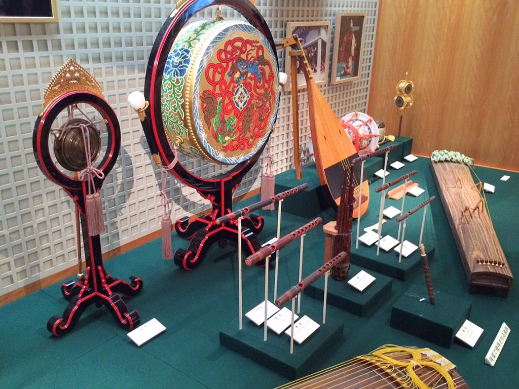 Ausstellungsstücke im Hamamatsu Museum of Musical Instruments