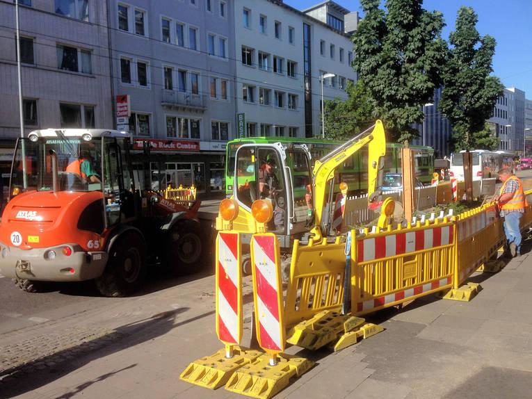 Kurt Schumacher Straße März 2016 Meldungen Landeshauptstadt