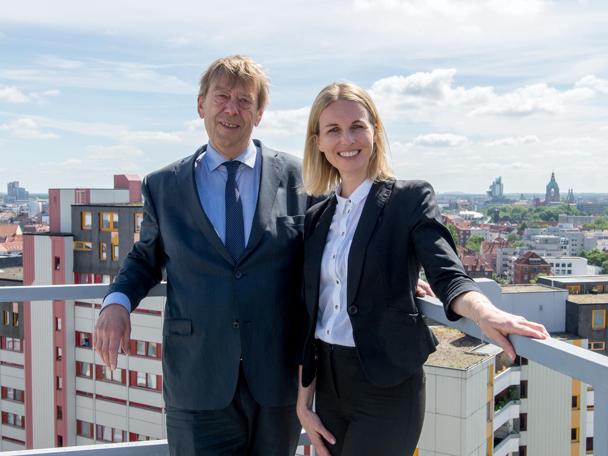 Harald Härke und Melanie Botzki