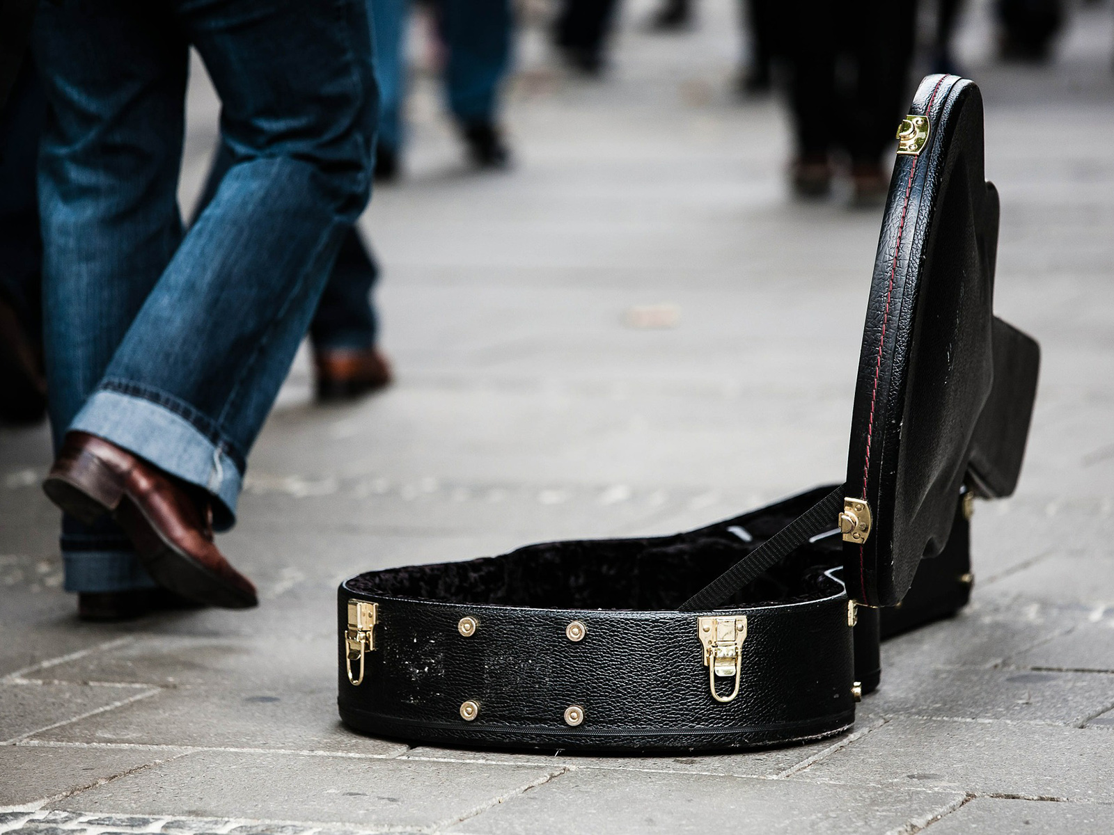 Ein Gitarrenkoffer