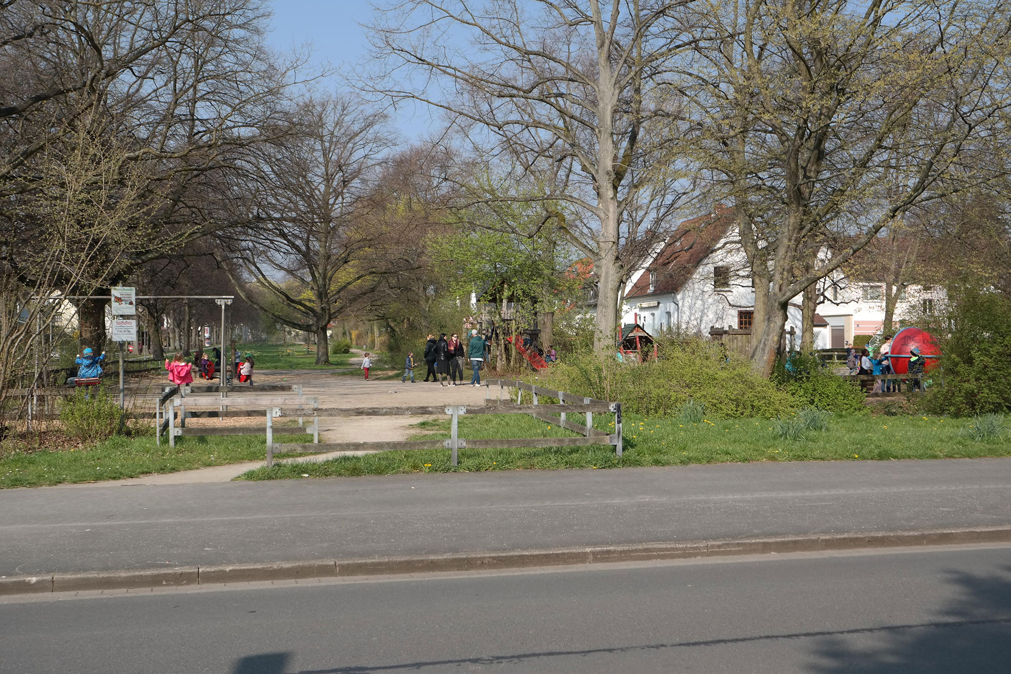 Spielplatz in der Pyrmonter Straße