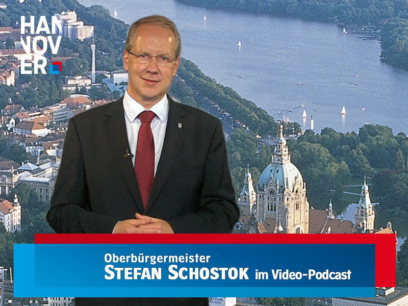 Oberbürgermeister Stefan Schostok im Video-Podcast
