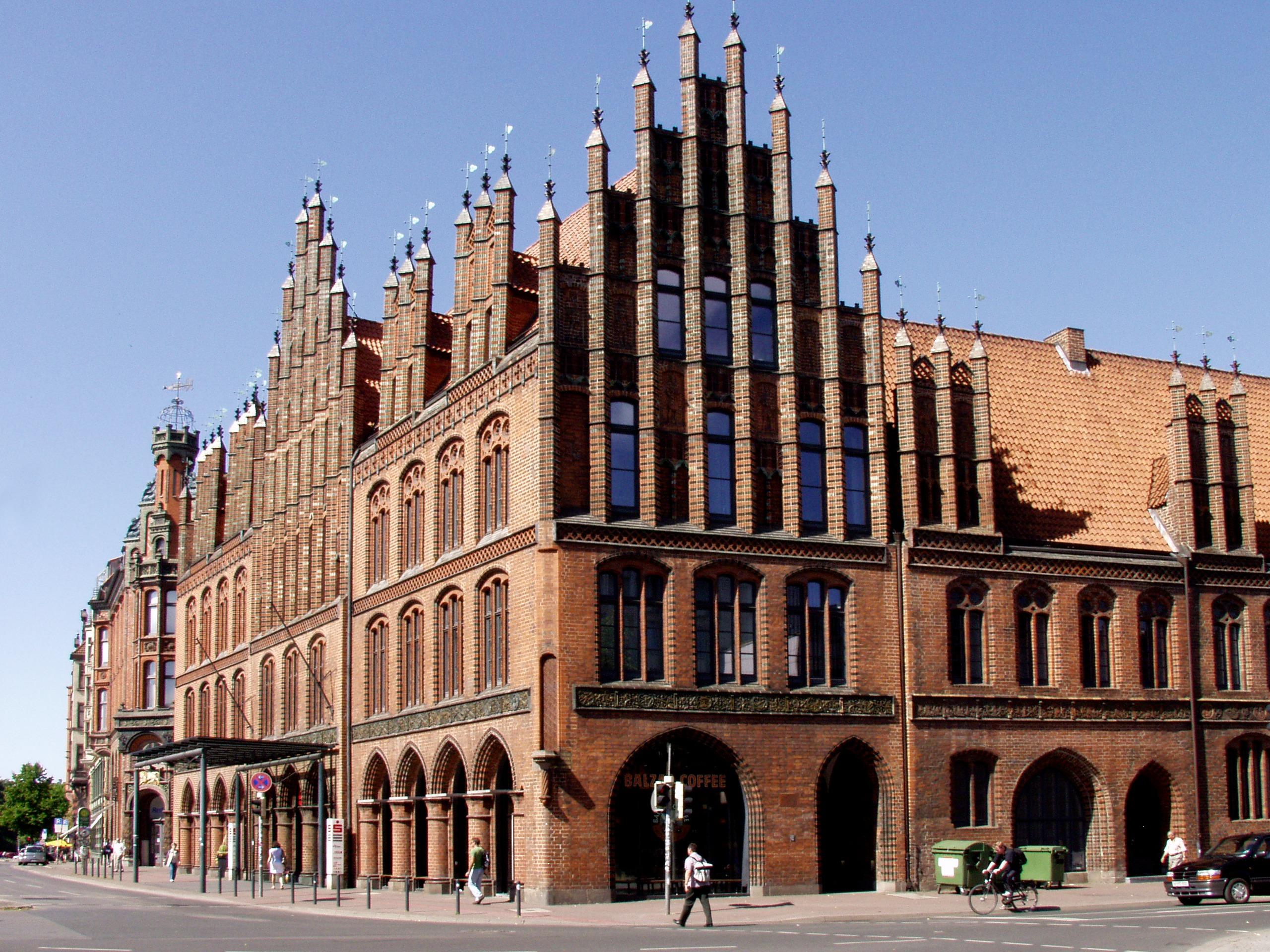 Blick auf das Alte Rathaus zu Hannover