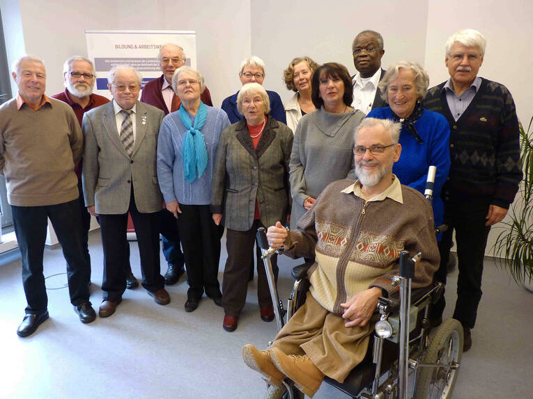 13 members of the current Seniors' Advisory Board