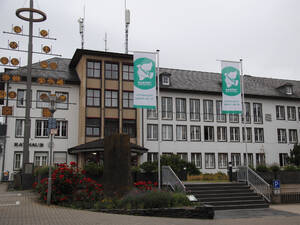 Flaggentag in Mayen