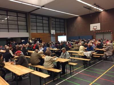 575 Personen werden in der Herschelschule betreut.