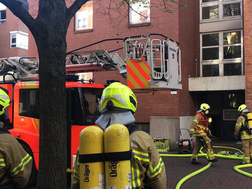 Am Sonntagabend ist im Keller eines Mehrfamilienhauses im Stadtteil Linden-Süd ein Brand ausgebrochen.