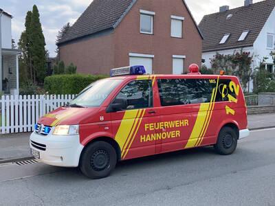 Ein Auto der Feuerwehr Hannover
