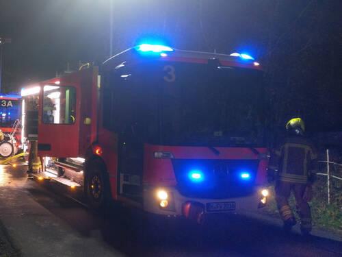 Ein Auto der Feuerwehr