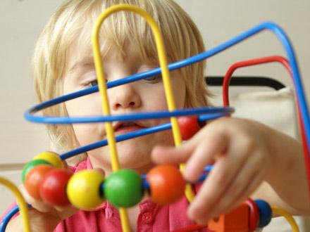 Kitakind beim Spielen