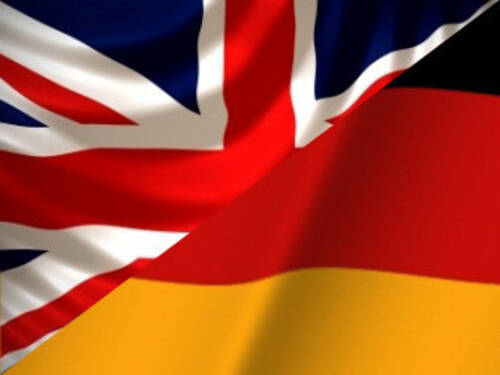 german/english flag