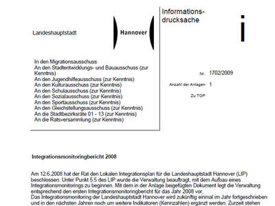 Integrationsmonitorinbericht 2008