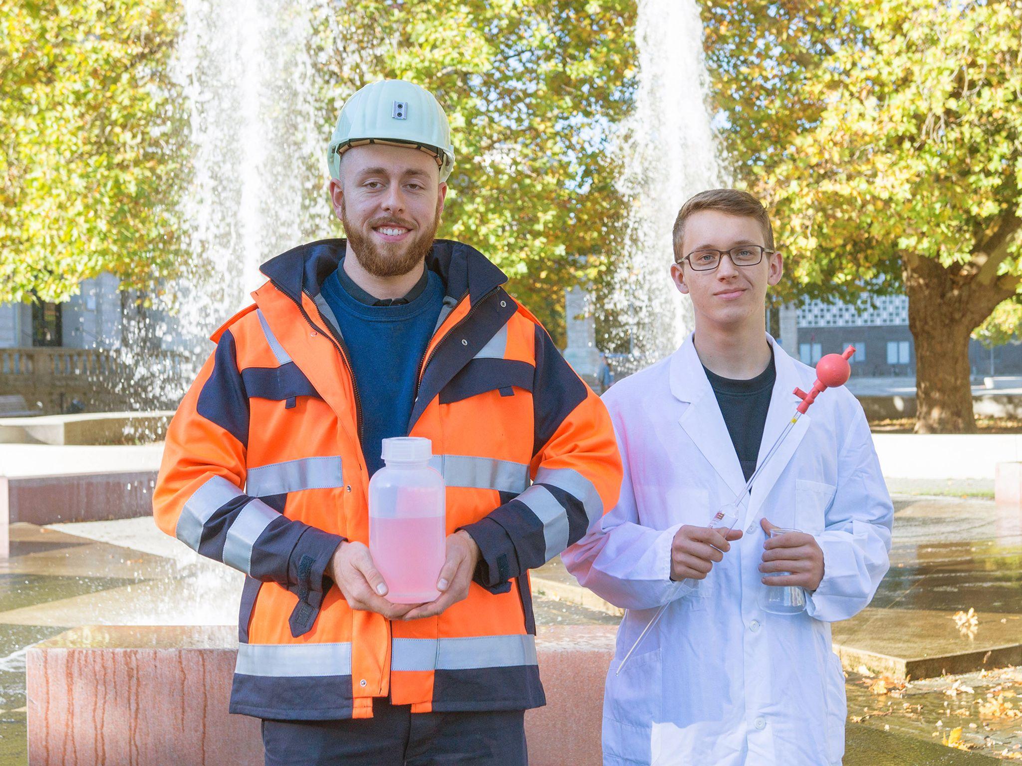 Fachkraft für Abwassertechnik in der Ausbildung