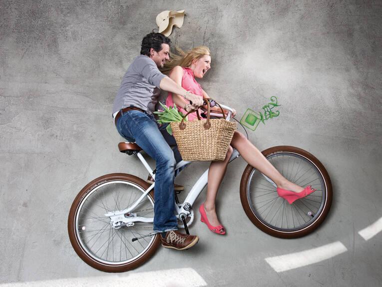zu zweit auf dem fahrrad 2014 autofrei umwelt landeshauptstadt hannover bilder 01. Black Bedroom Furniture Sets. Home Design Ideas