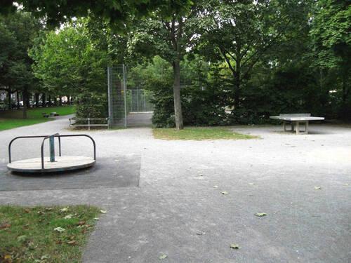 Spielplatz Rampenstrasse Kuchengarten Abgeschlossene
