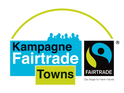 "Logo der Kampagne ""FairTrade-Towns"""