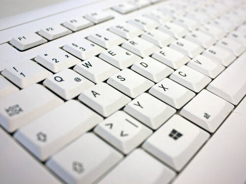 Symbolbild - Download = Tastatur