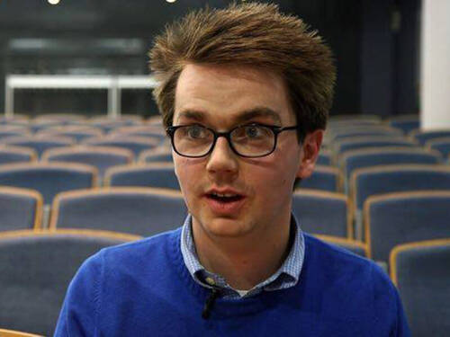 Steven Wright, ein Erasmus-Student, im Interview