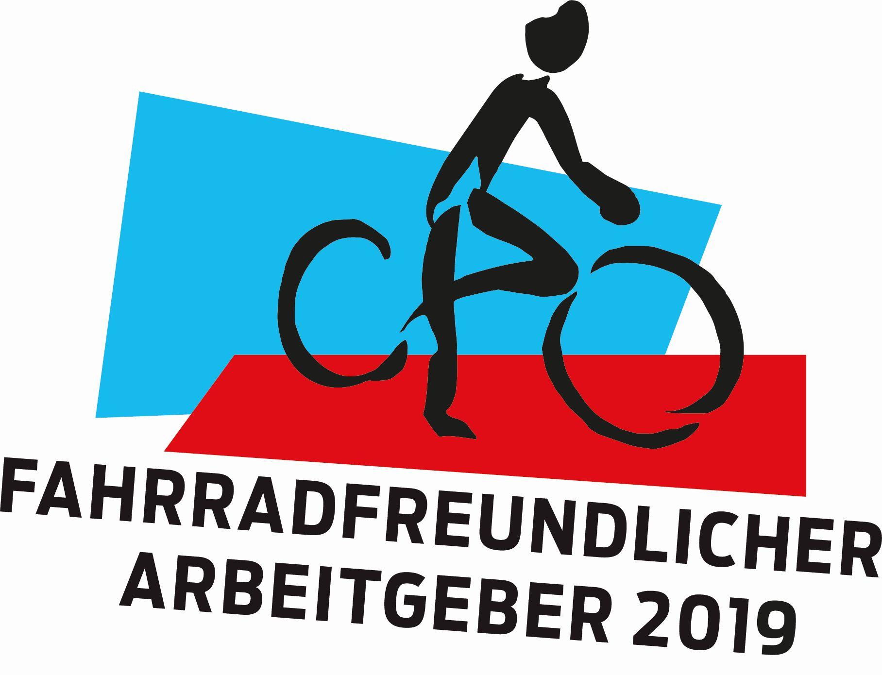 Wettbewerb Fahrradfreundlicher Arbeitgeber 2019