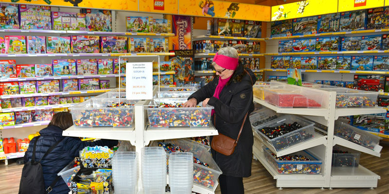 Foto: Der Lego-Laden in Hannover.