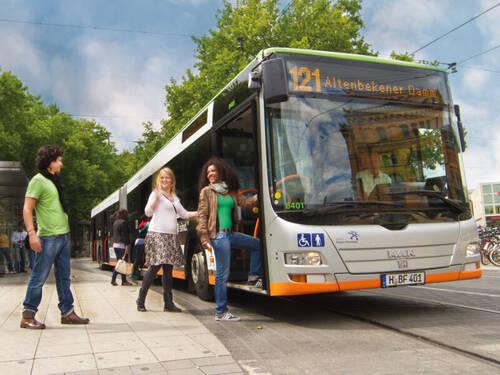 Kennenlernen im bus