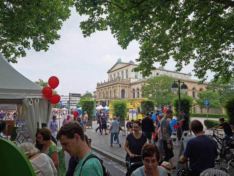 Blick Auf Die Oper Autofreier Sonntag 2018 In Bildern Galerien