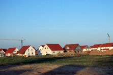 Baugebiet in der Region Hannover