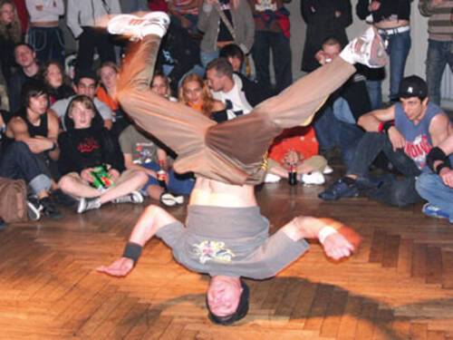 Breakdance Performance