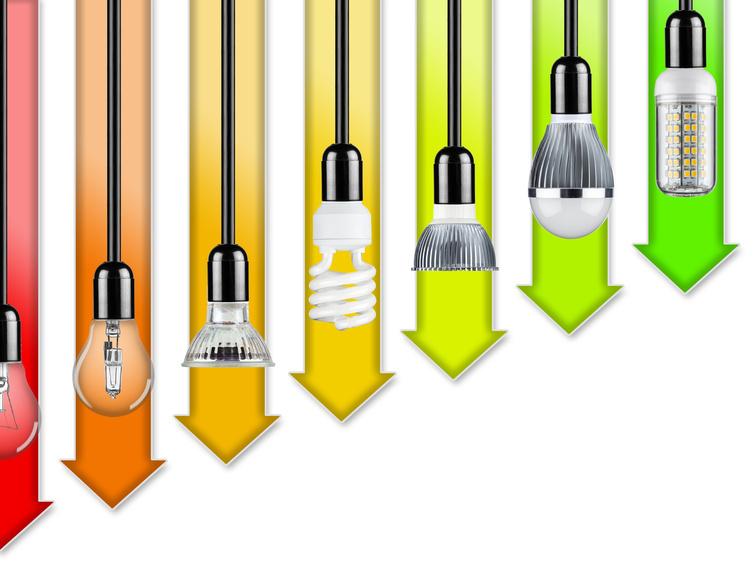 Energiesparende Leuchtmittel