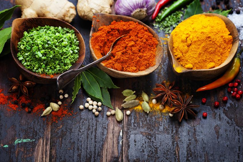 Gewürze der indischen Küche